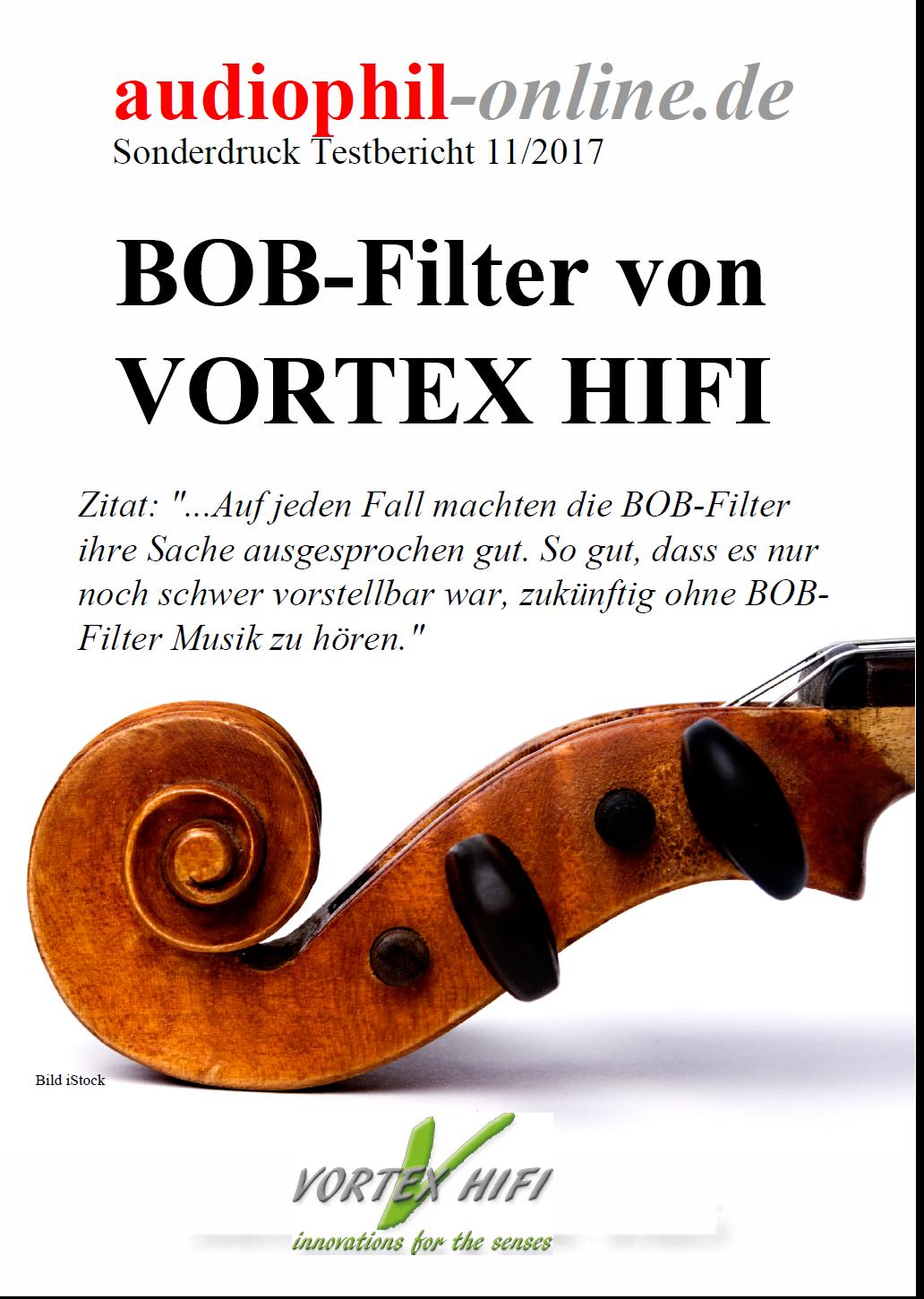 Vortex HiFi Netzfilter in BOB-Technik | VORTEX HIFI