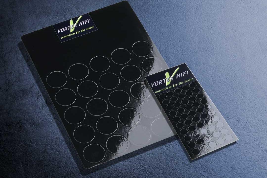 Vortex HiFi 2D - Entstör -Chips-Schwarz